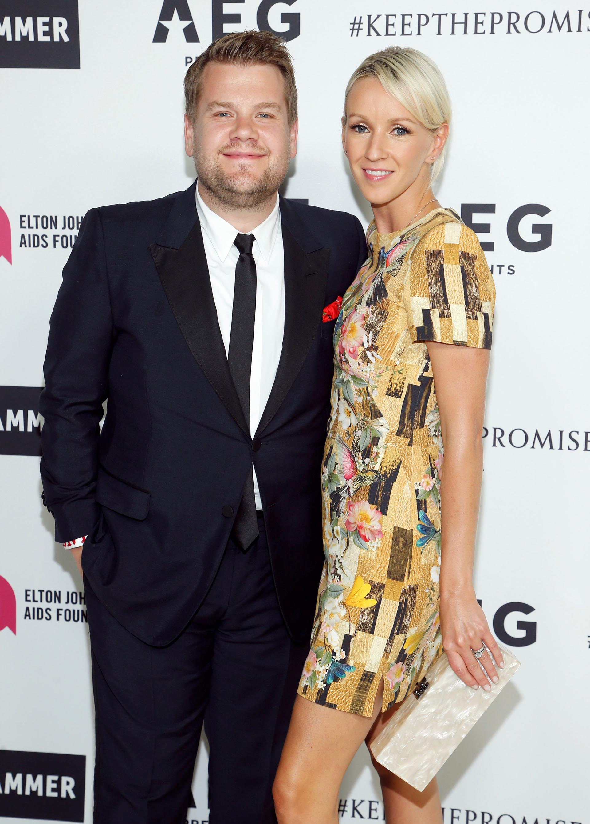 James Corden- Julia Carey