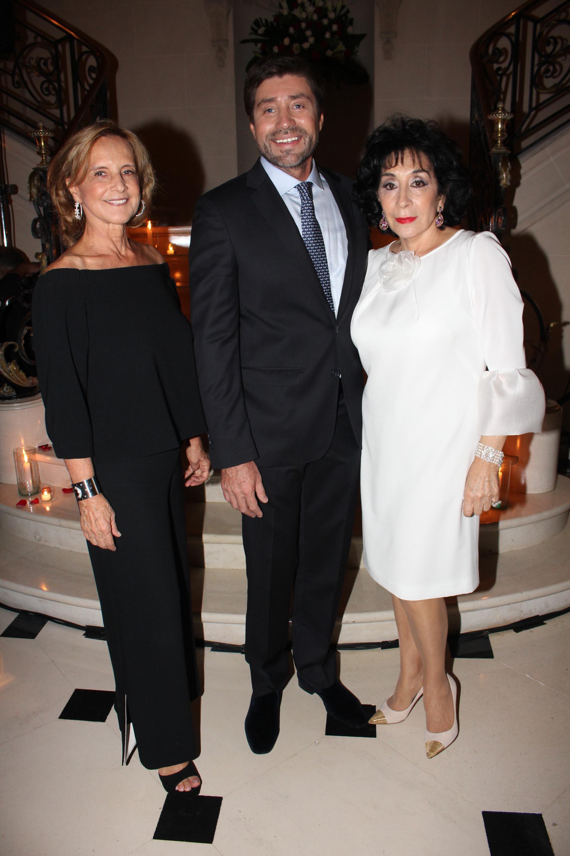 Teresa Bulgheroni, Walter Ramírez Moyano y Graciela Pérez Lastra