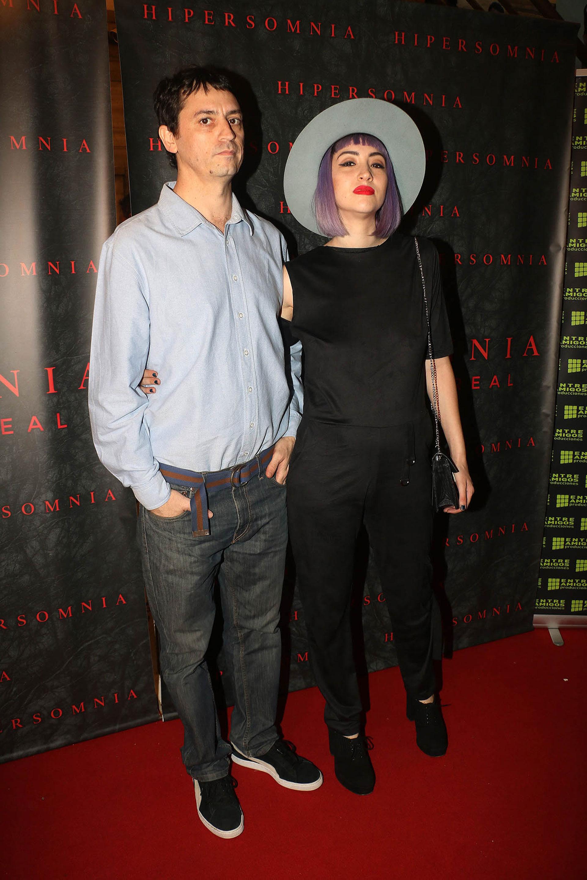 Sofía Gala y su marido Julián Della Paolera