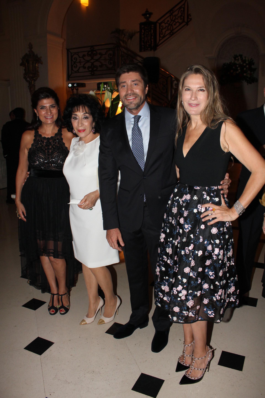 María Isabel Siman Menem, Graciela Pérez Lastra, Walter Ramírez Moyano y Ana Rusconi