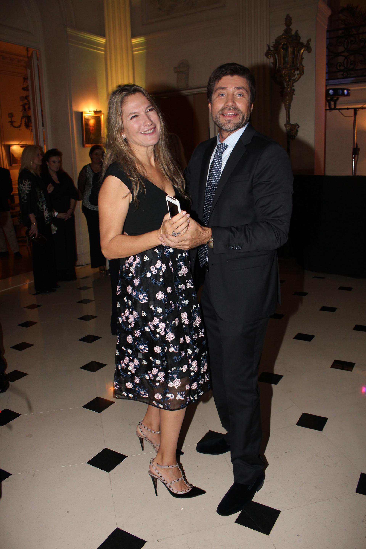 Ana Rusconi y Walter Ramírez Moyano en pleno baile