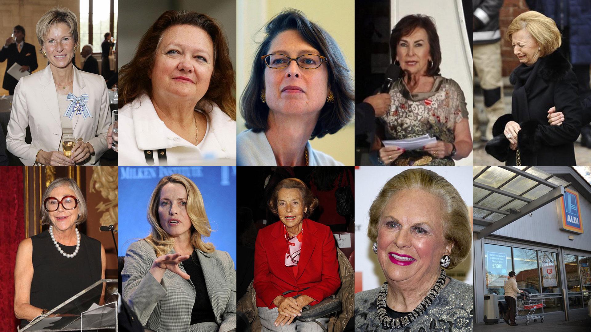 c6b7ad9fa6d7 Éstas son las diez mujeres más ricas del mundo, según Forbes - Infobae