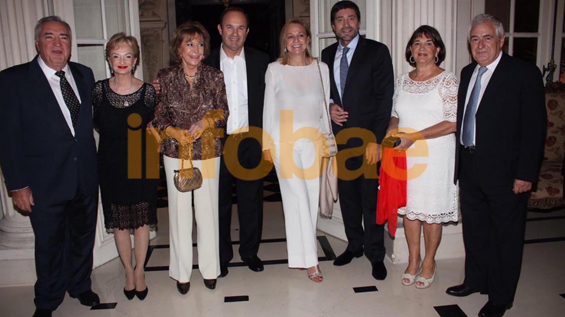 María Julia Alsogaray estuvo entre los exclusivos invitados al festejo