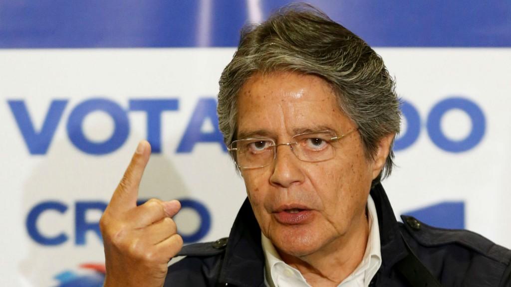 Guillermo Lasso denunció fraude