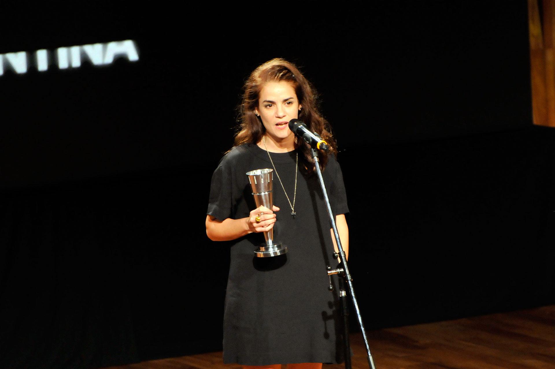 """Pilar Gamboa fue distinguida por su interpretación en""""Cómo funcionan casi todas las cosas"""""""