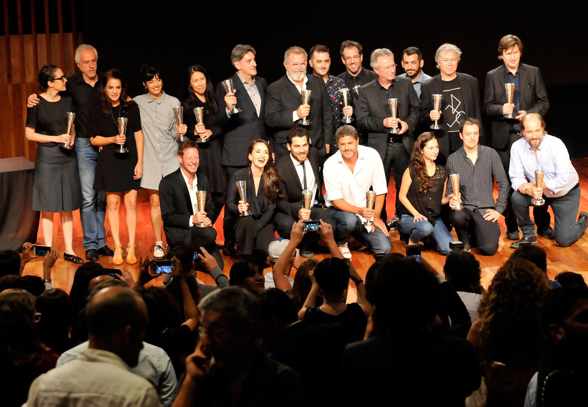 Todos los ganadores de los premios otorgados porla Academia de las Artes y Ciencias Cinematográficas