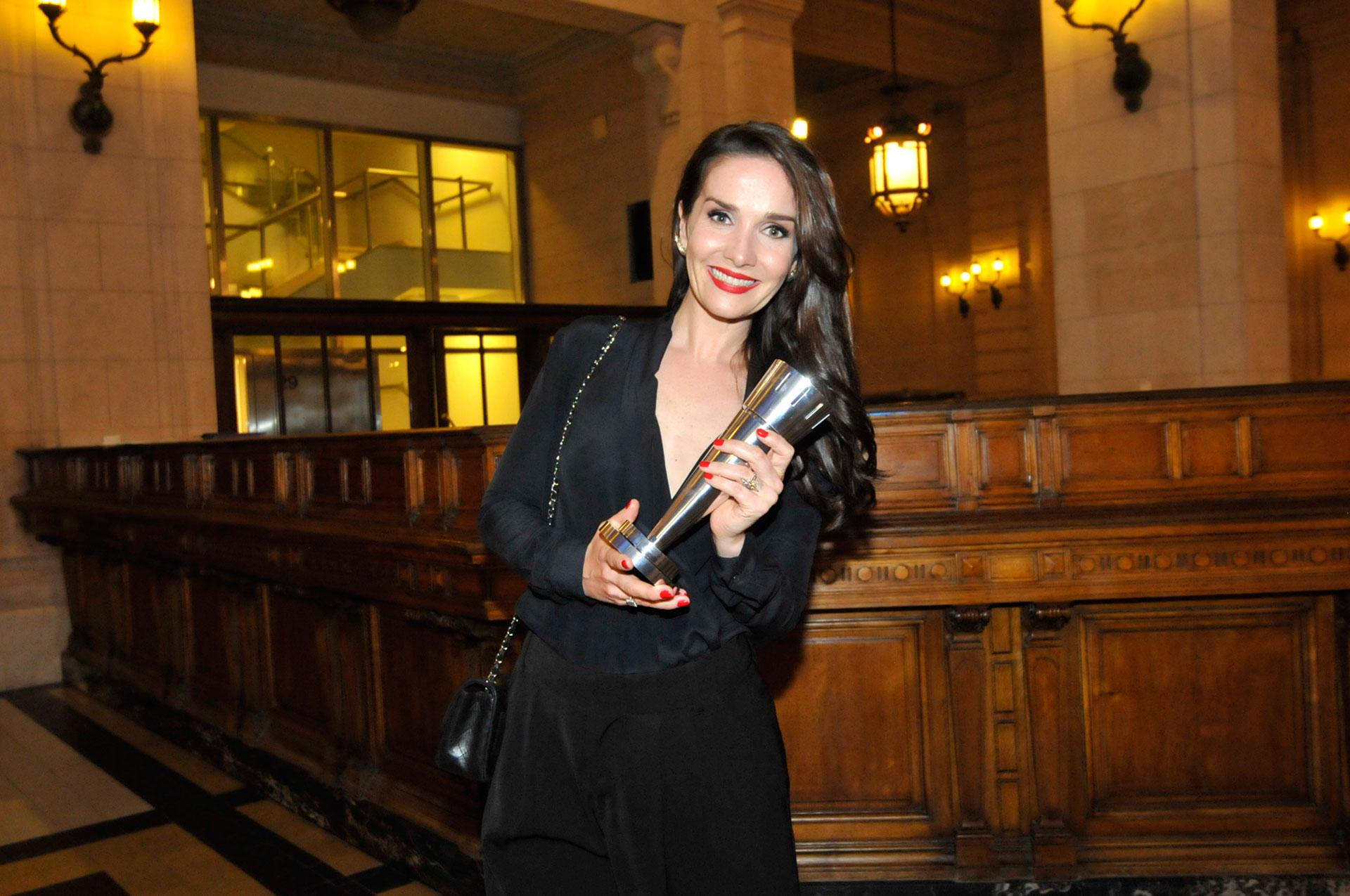 Natalia Oreiro, feliz por este reconocimiento