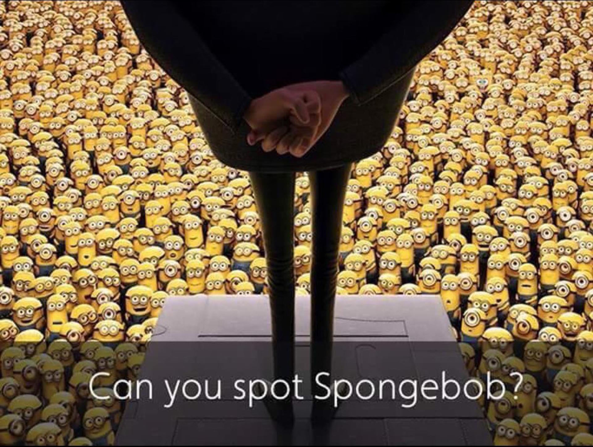 ¿Dónde está Bob Esponja?