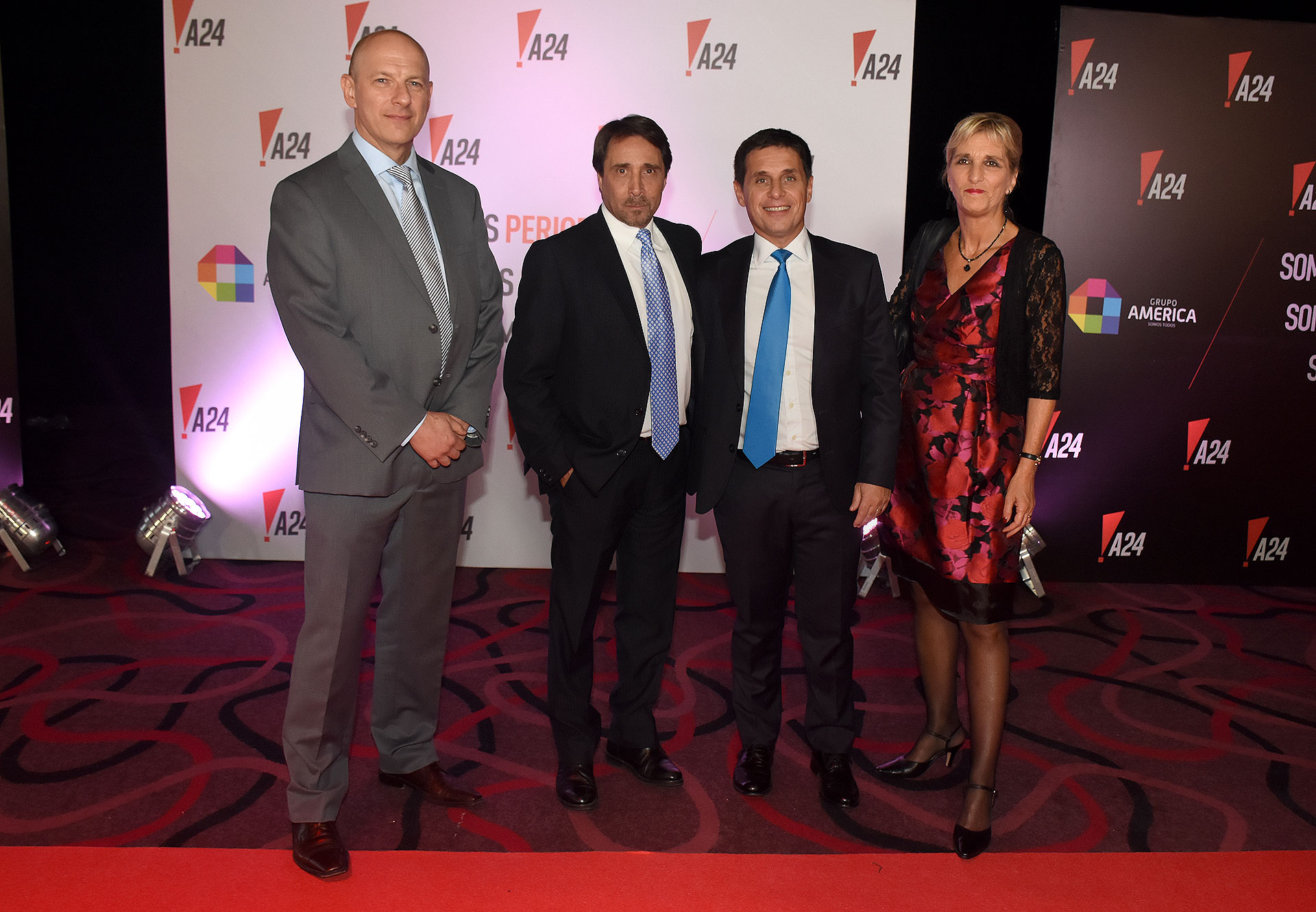 Sergio Berensztein, Eduardo Feinmann, Fernando Carnota y Liliana Franco