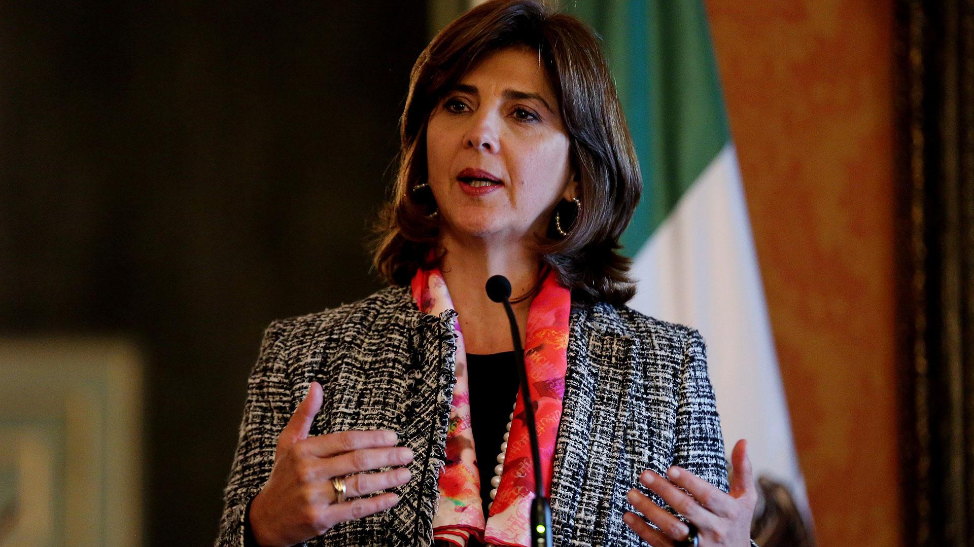 María Ángela Holguín, canciller colombiana (EFE)