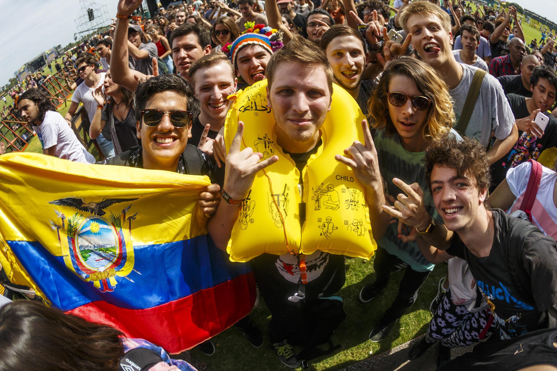 El público internacional en el Festival