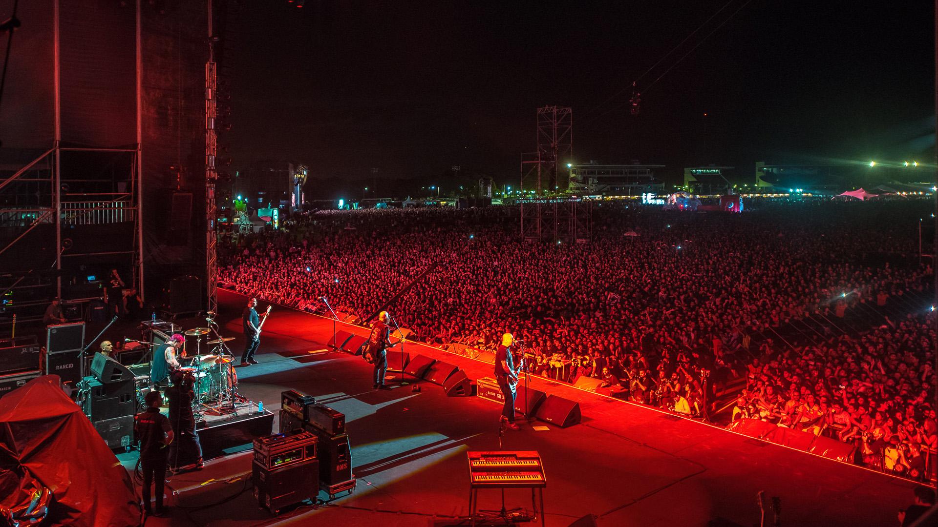 Miles de personas en la gran noche en el Hipódromo de San Isidro