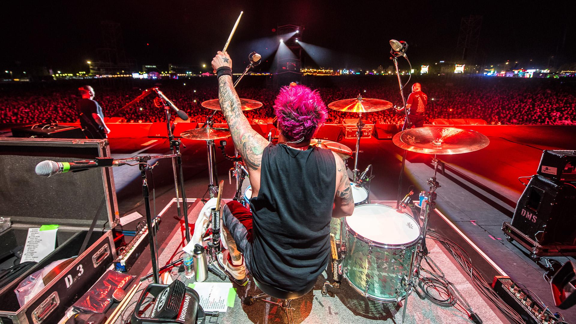 El show de Rancid en Lollapalooza