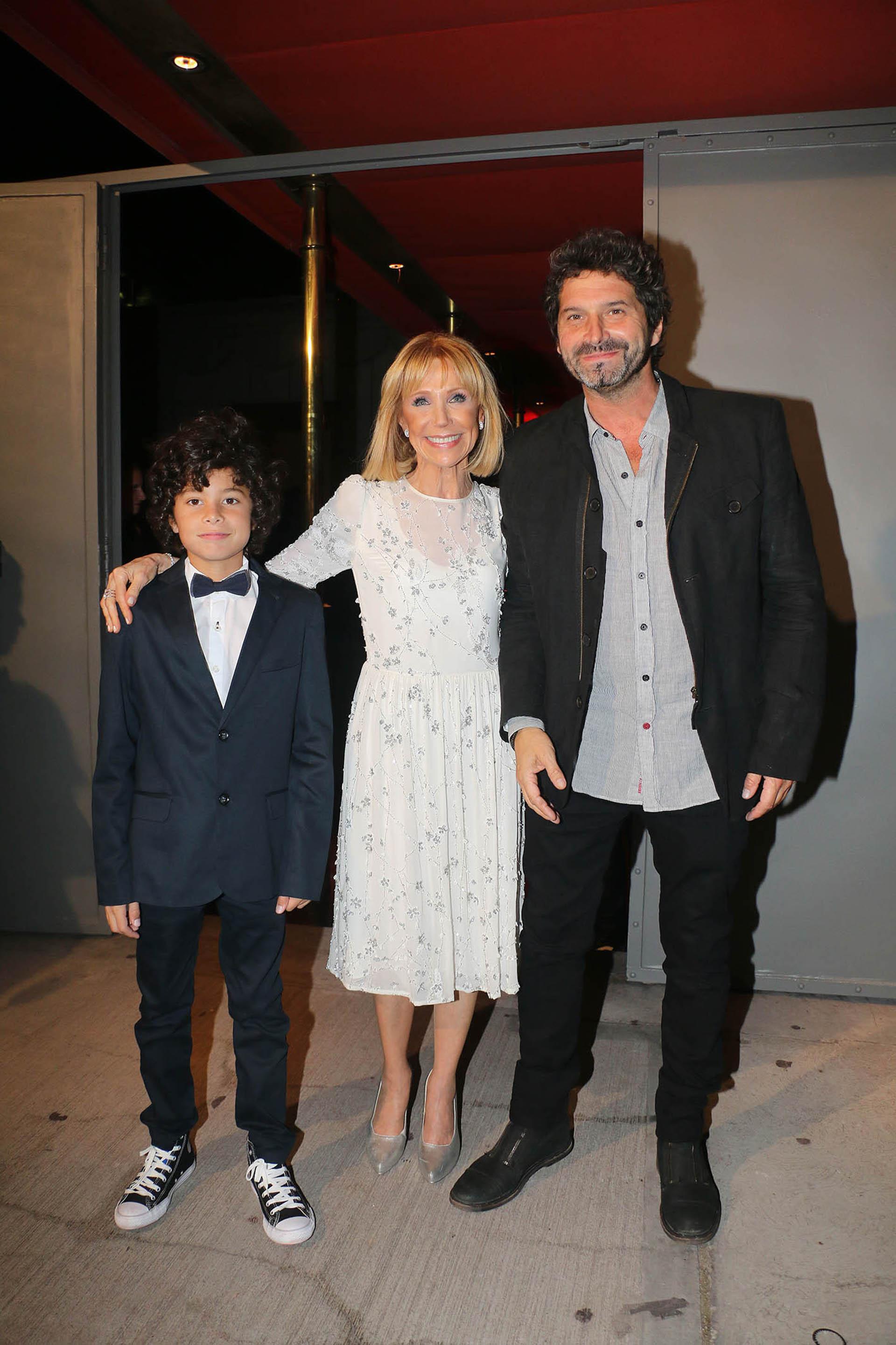 Evangelina, Iván Noble y su hijo Benito
