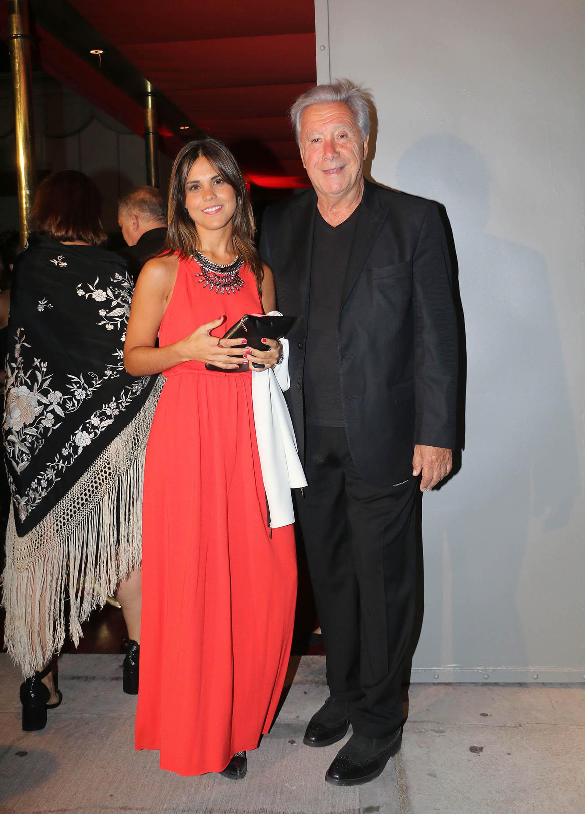 Juan Alberto Mateyko y su hija Rosita