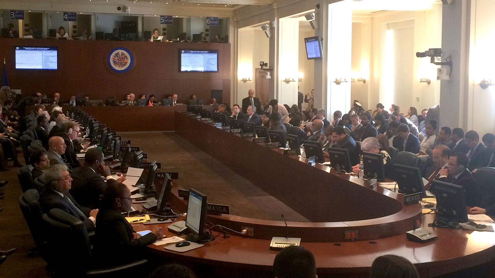Los cancilleres están divididos sobre el papel que debe jugar la región en la crisis de Venezuela