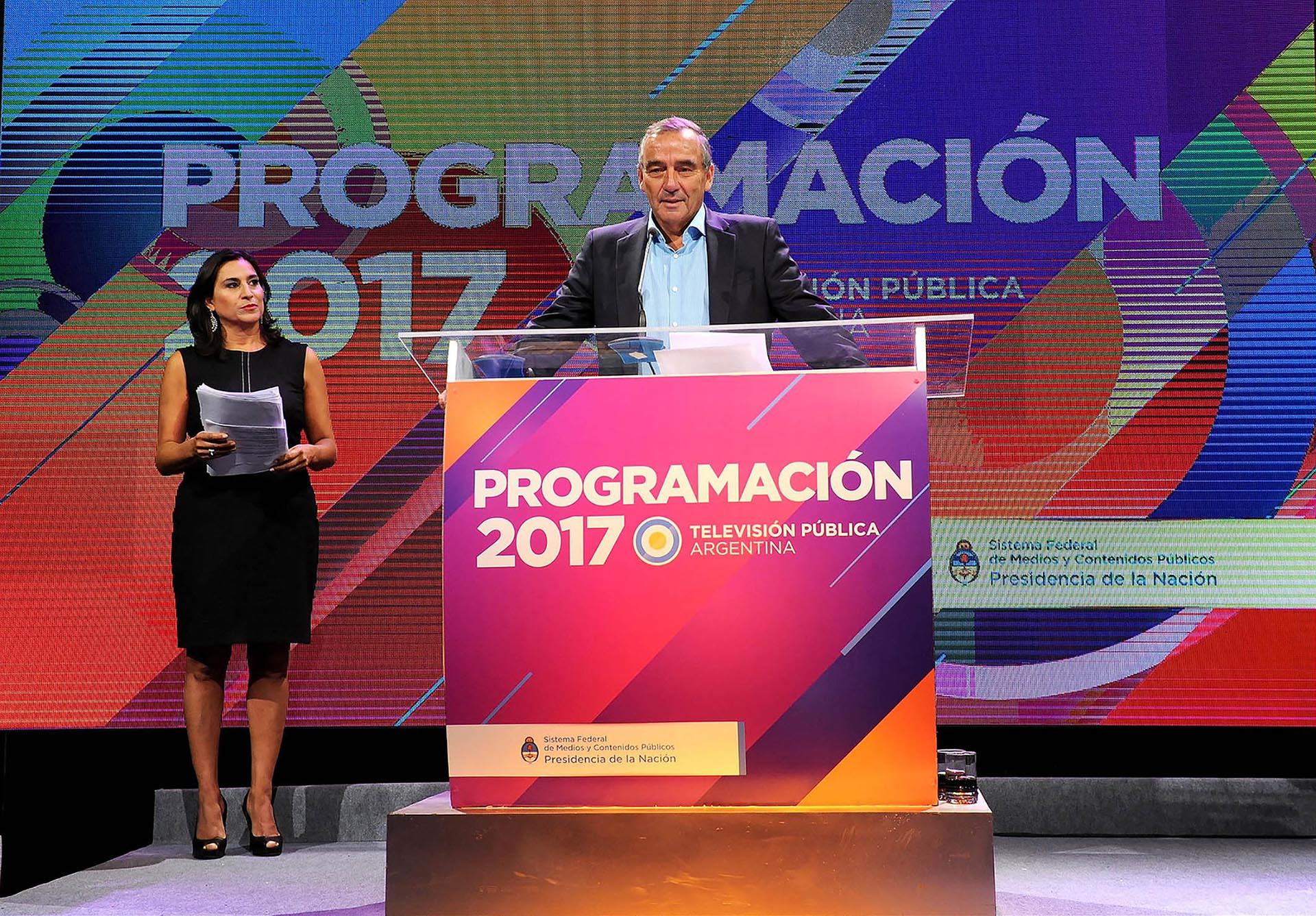Horacio Levin, presidente de Radio y Televisión Argentina (RTA S.E.) (Verónica Guerman)