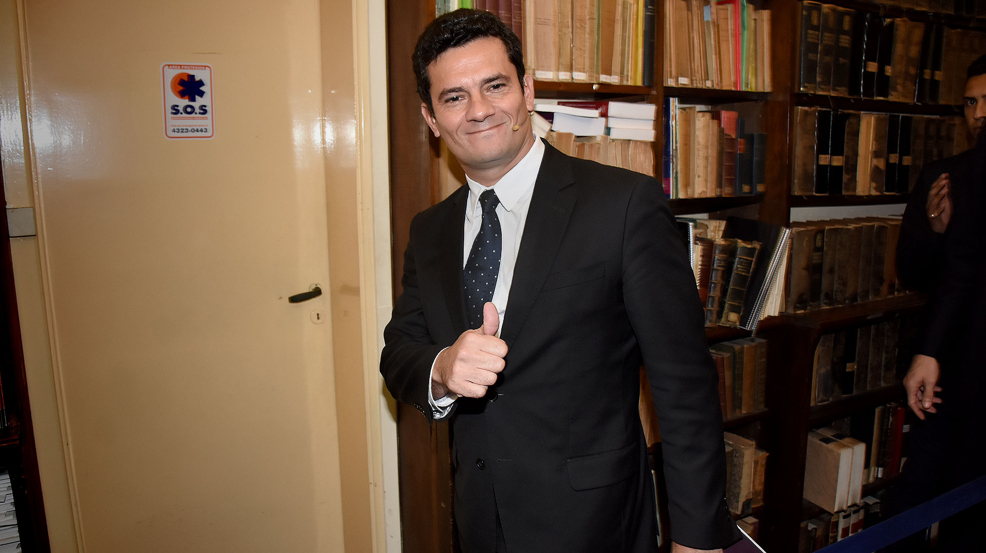El juez federal Sérgio Moro (Nicolás Stulberg)