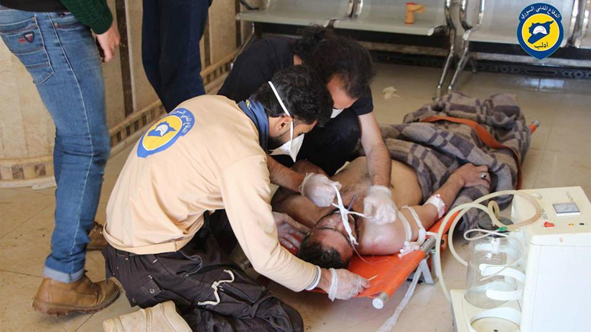 Las terribles consecuencias de los bombardeos químicos del régimen de Bashar al Assad