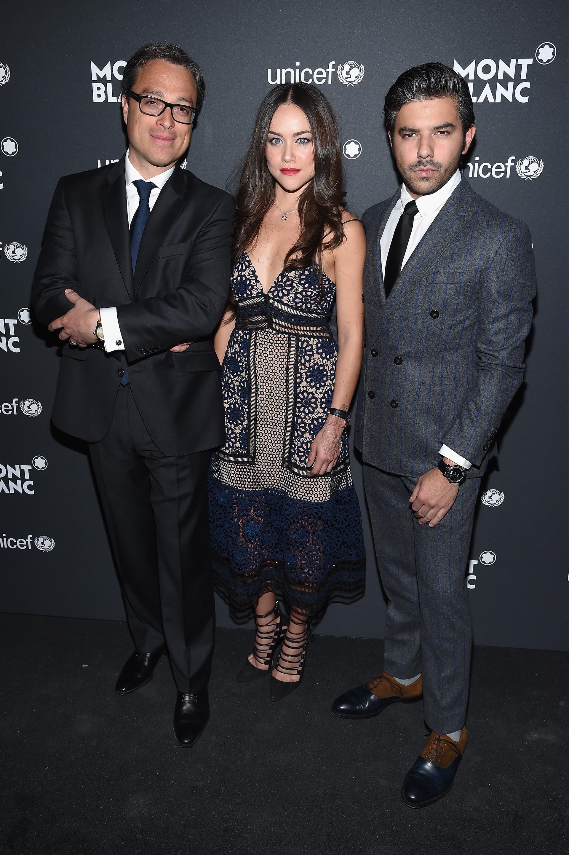 Nicolas Baretzi, Gaby Gomez y Juan Pablo Jim