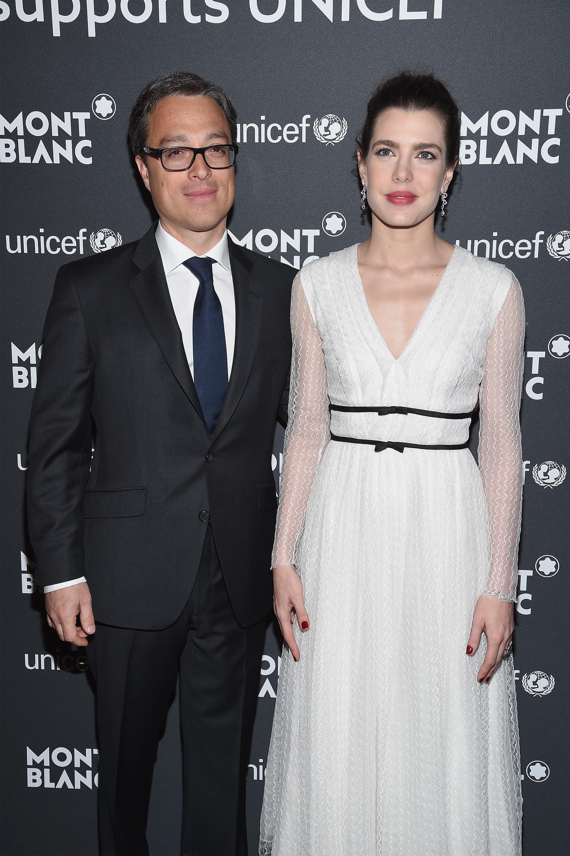 Nicolas Baretzi, CEO de Montblanc, recibió a la sobrina del Soberano de Mónaco
