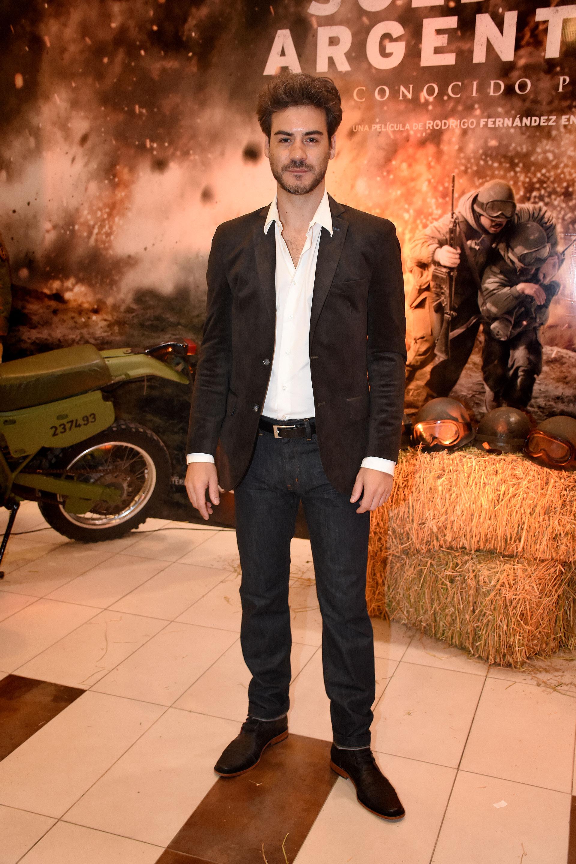 En la película, el actor Mariano Bertolini hace del soldado Juan Soria