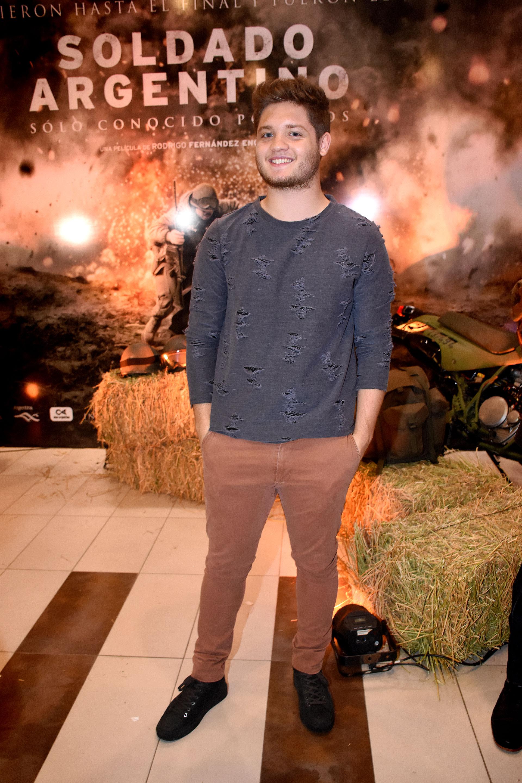 Tomás Kirzner, hijo de Adrián Suar y Flor Torrente; su hermana es una de las protagonistas del film