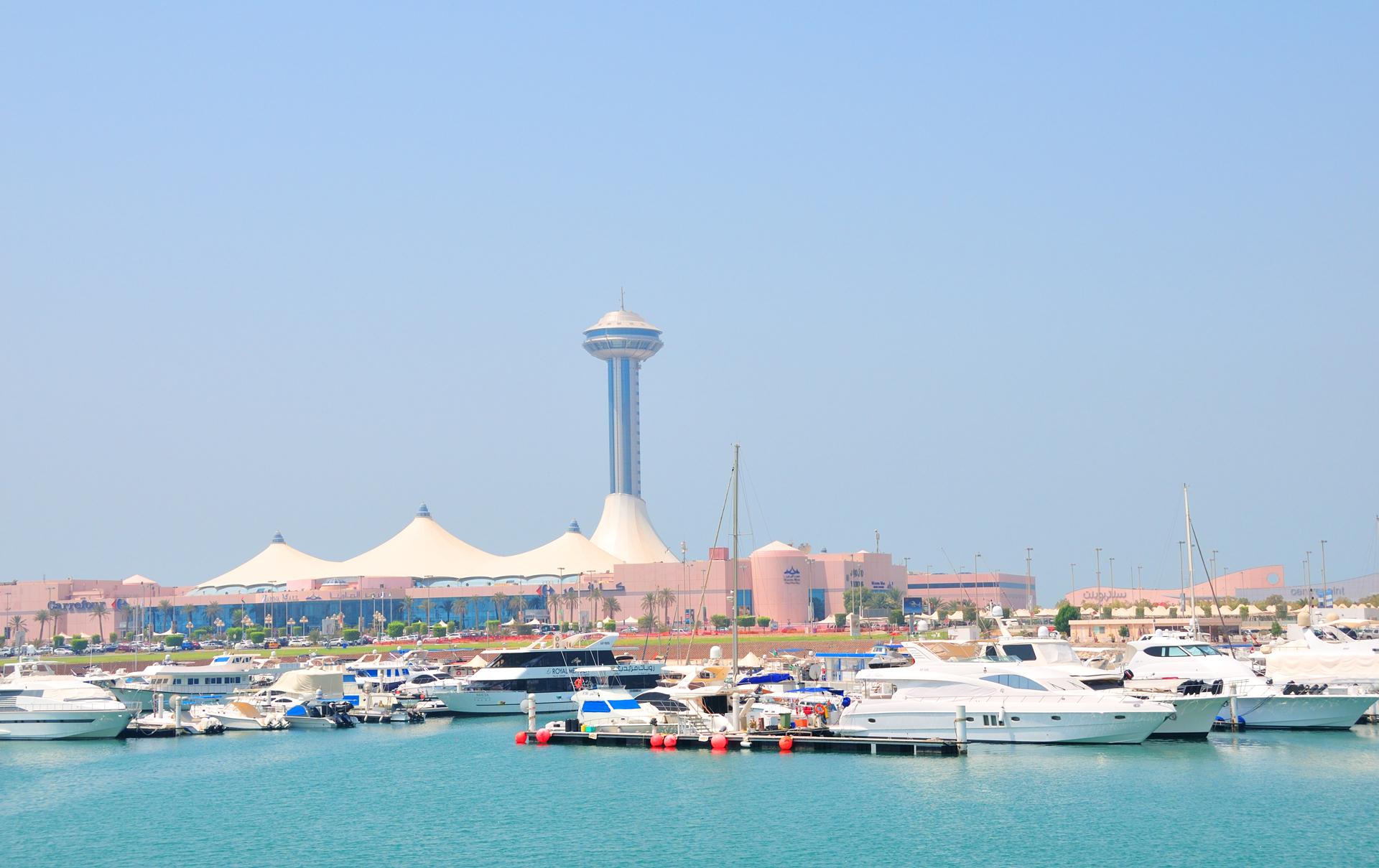 Marina Bay, en Abu Dhabi, un lugar para conocer (istock)
