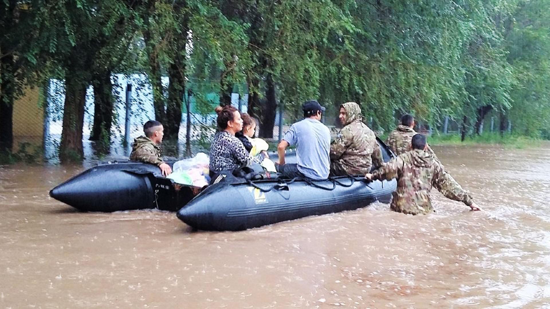 El Comando Operacional del Estado Mayor Conjunto de las Fuerzas Armadas coordina la ejecución del apoyo brindado por las tres Fuerzas en todo el país