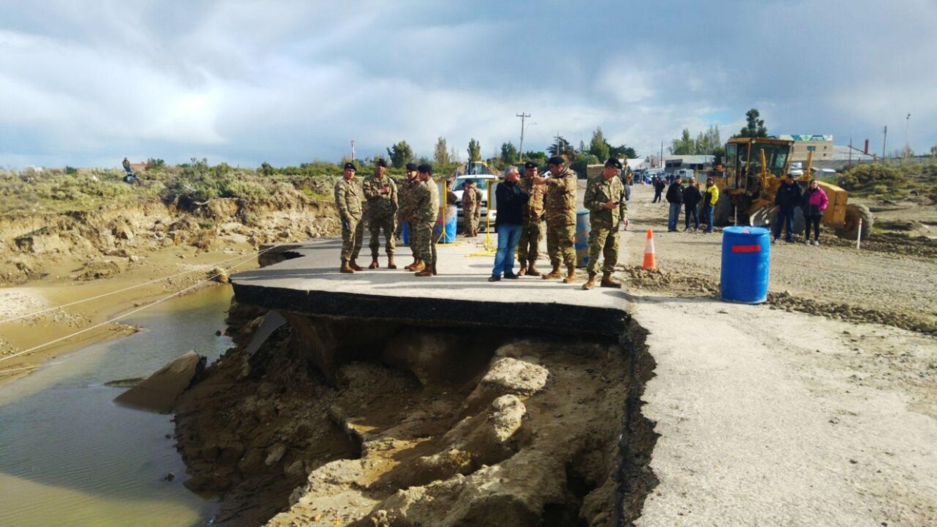 Chubut, La Pampa, Santiago del Estero, Catamarca, Tucumán, Salta y Jujuy se vieron afectadas por los temporales que castigaron distintas áreas del país