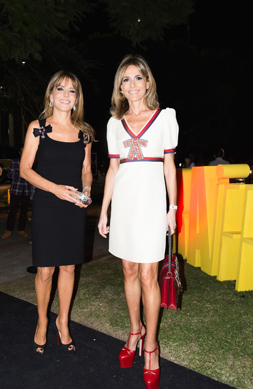 Patricia y Rossella Della Giovampaola en el BAIFF, una iniciativa que busca promocionar, premiar y reconocer los mejores fashion films nacionales e internacionales