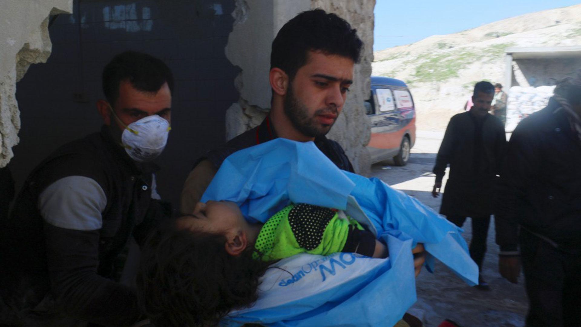 EEUU acusó a Siria de haber utilizado gas cloro y sarín contra la población civil (Reuters)
