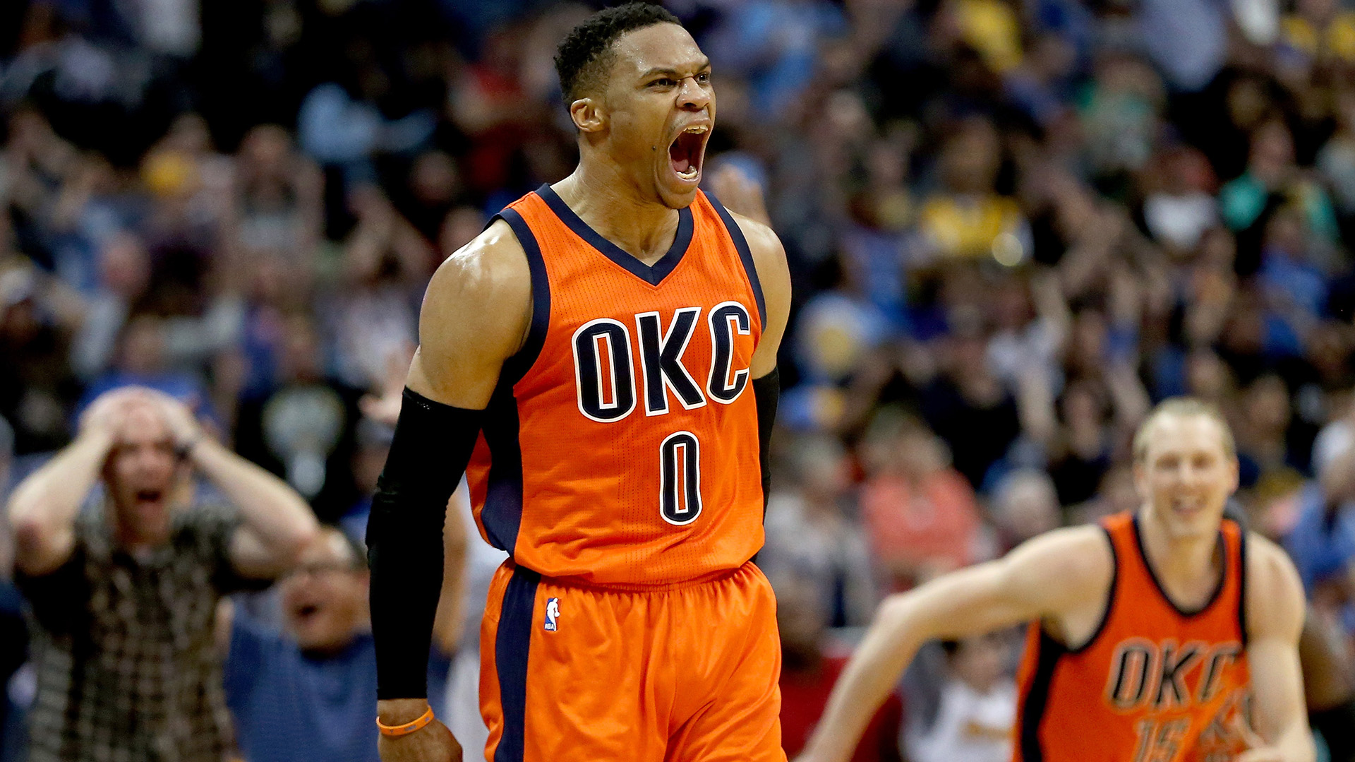 Russel Westbrook, MVP de la última temporada, ha firmado el contrato más grande de la historia de la NBA (Getty Images)