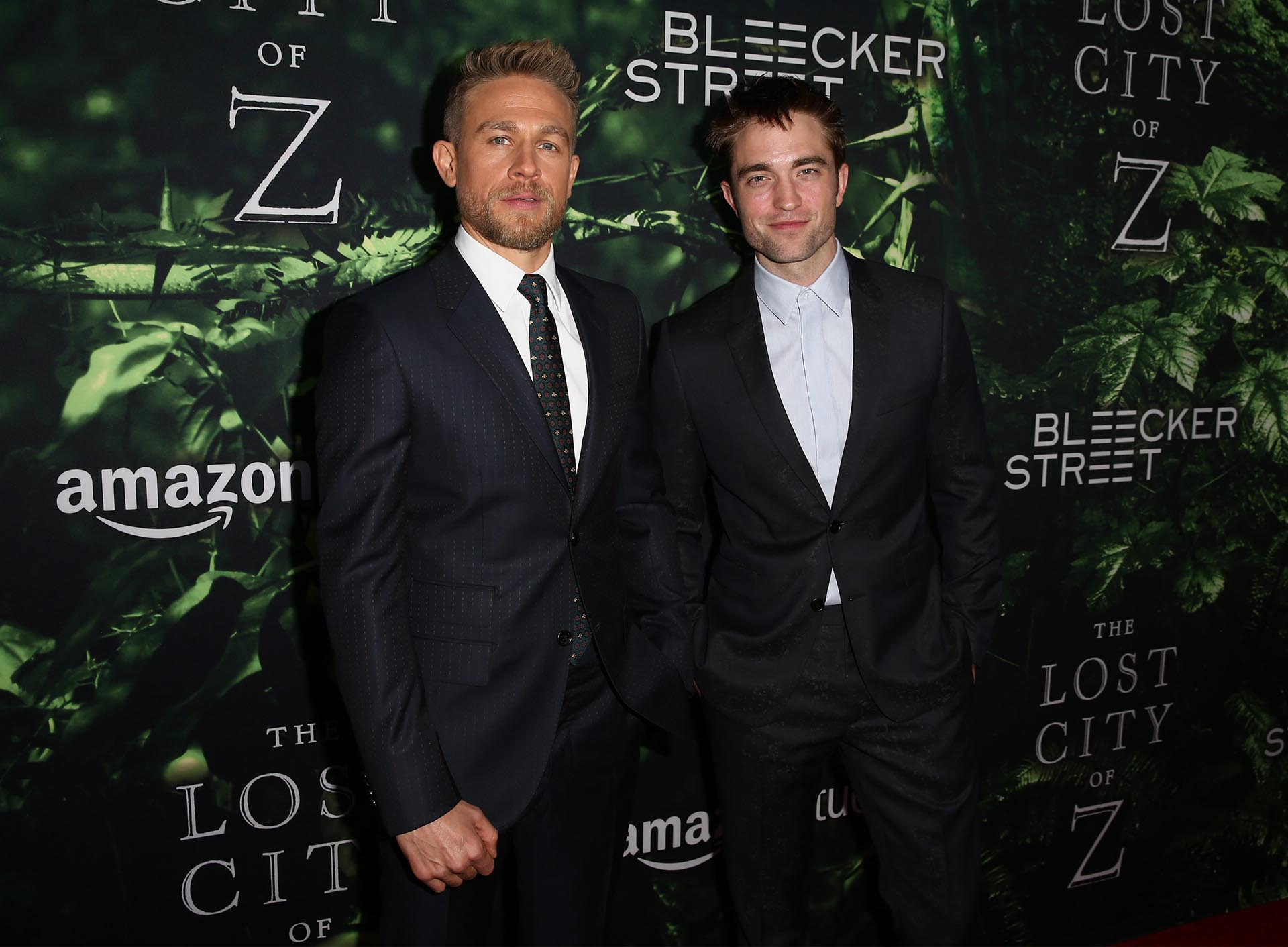 Charlie Hunnam y Robert Pattinson
