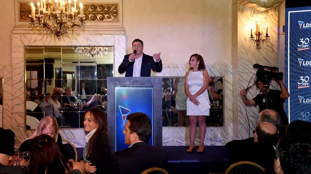 Roberto Baigorria, referente de Libres del Sur en la Ciudad