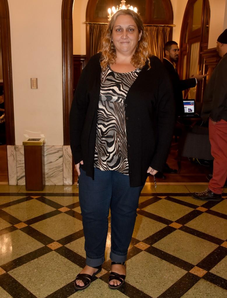 María Rachid, legisladora porteña y ex vicepresidente del INADI
