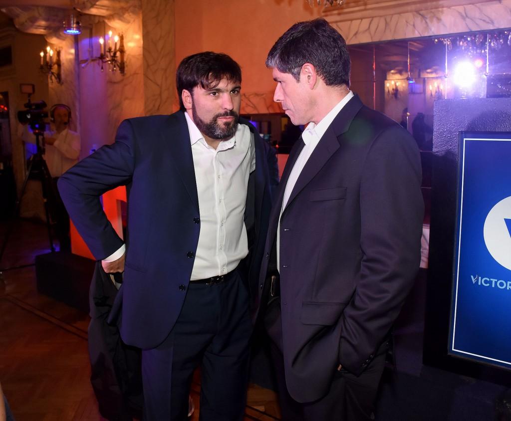 Diego Bossio y Juan Manuel Abal Medina