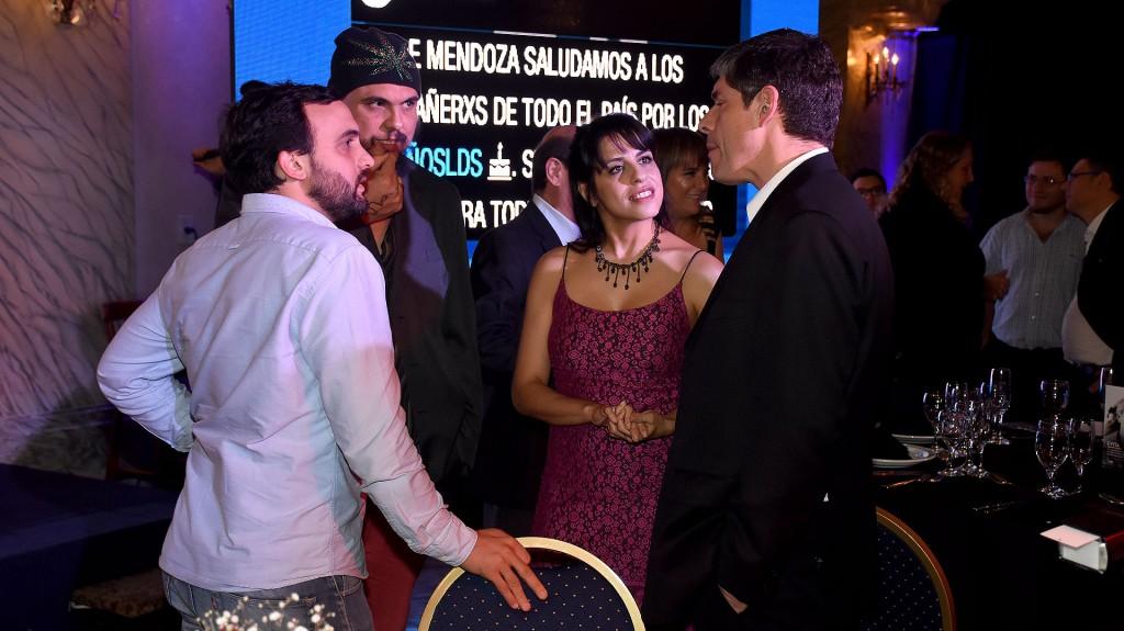 Leonardo Grosso, Pablo Marchetti, Victoria Donda y Juan Manuel Abal Medina