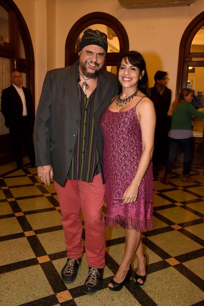 Pablo Marchetti y Victoria Donda