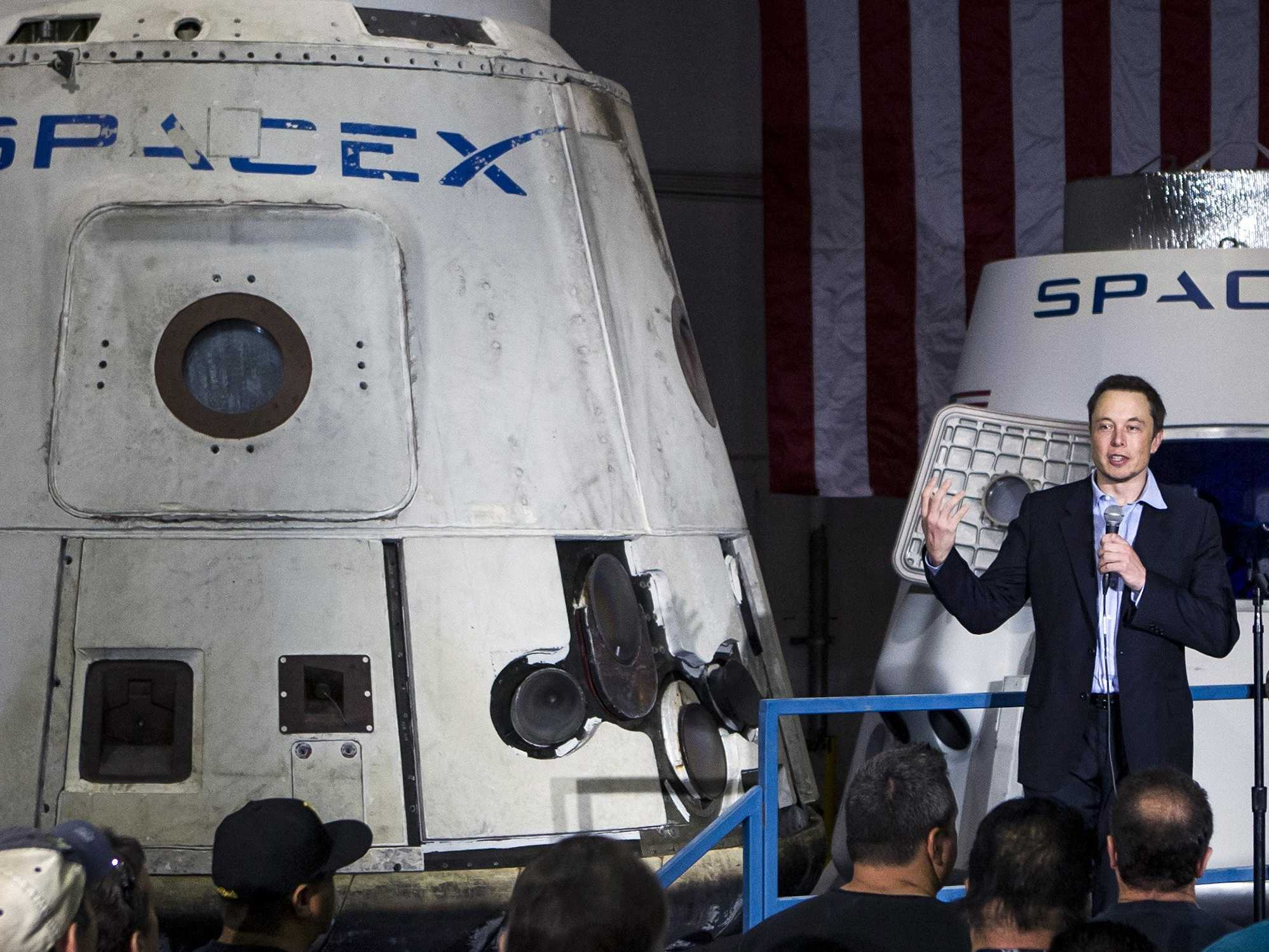 Elon Musk, creador de Space X