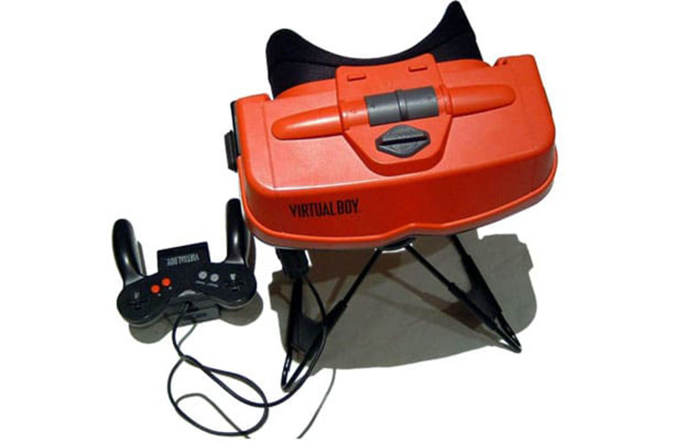 fiascos tecnologicos Nintendo Virtual Boy SF