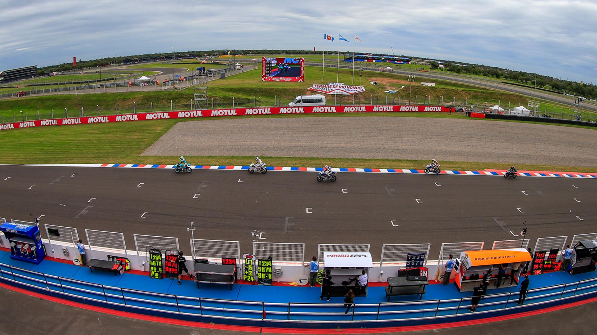 El Gran Premio de la República Argentina de Moto GP se corrió por cuarta vez en el circuito internacional Termas de Río Hondo, Santiago del Estero, considerado el más moderno, veloz y seguro de Latinoamérica
