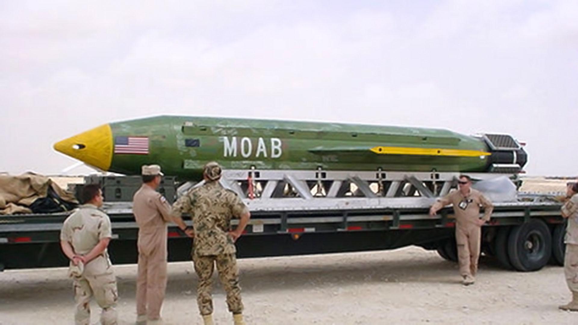 """Según Estados Unidos, """"la madre de todas las bombas"""" habría matado a 36 fanáticos de ISIS"""