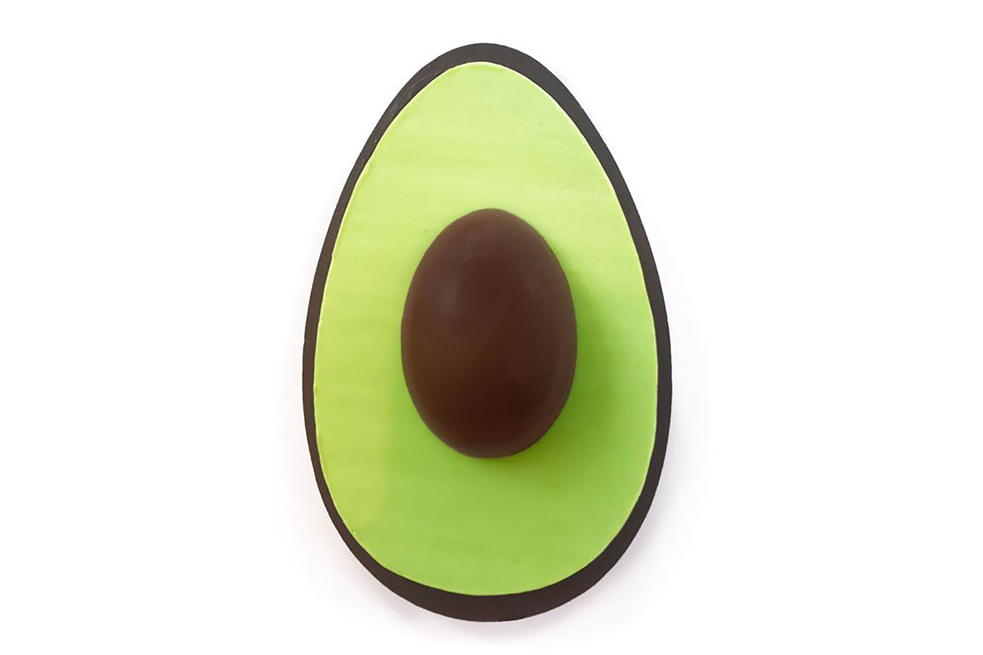 El Melt London Dark Chocolate Avocado Egg sale 49, 50 libras, es decir, 938 pesos