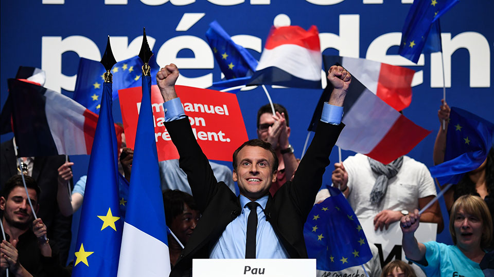 7/5 Emmanuel Macron es electo Presidente de Francia (AFP)