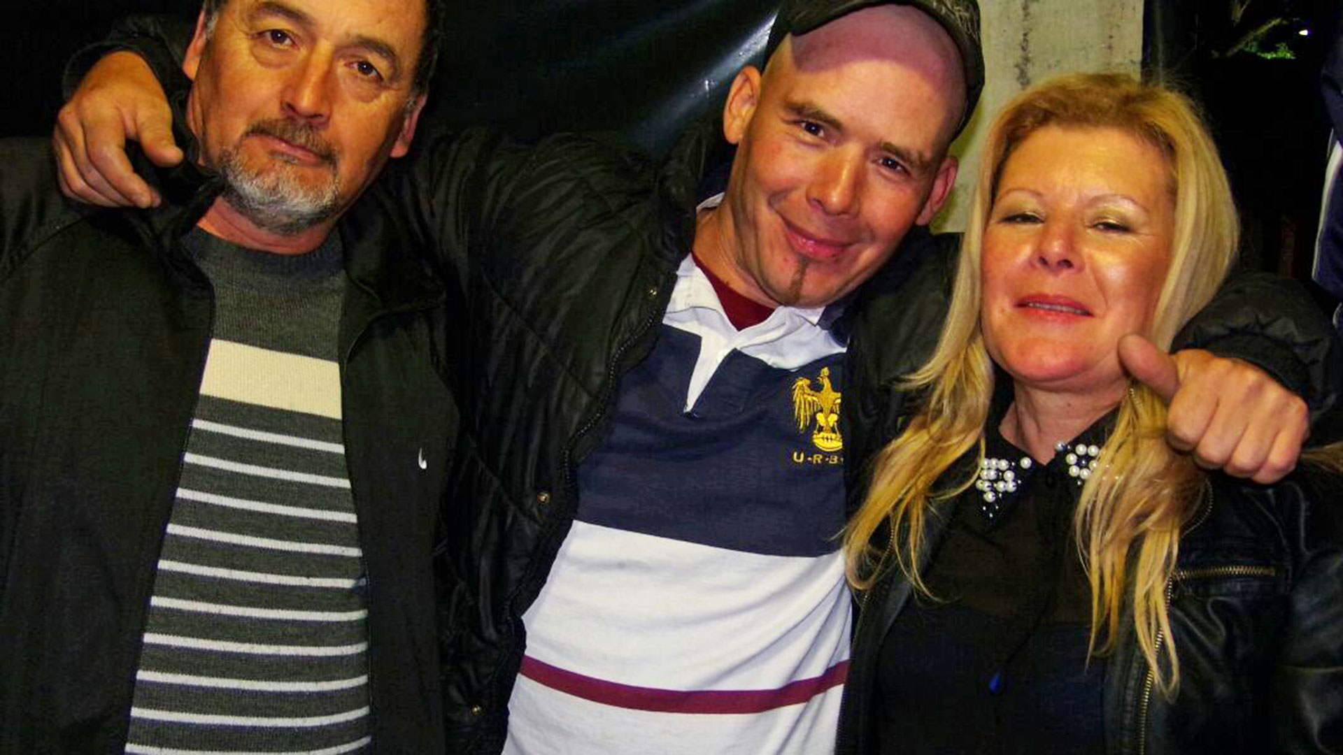 Juan Francisco Bulacio (en el medio)