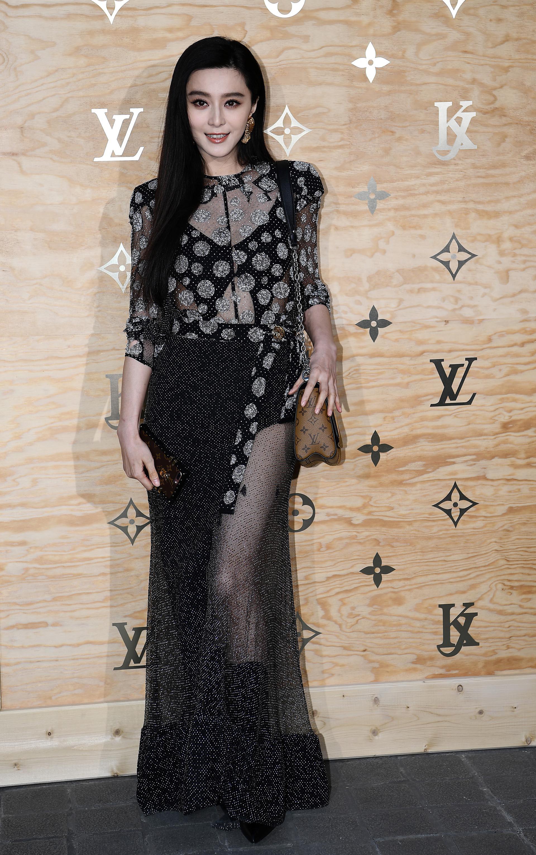 La cantante y actriz china, Fan Bingbing /// Fotos: AFP