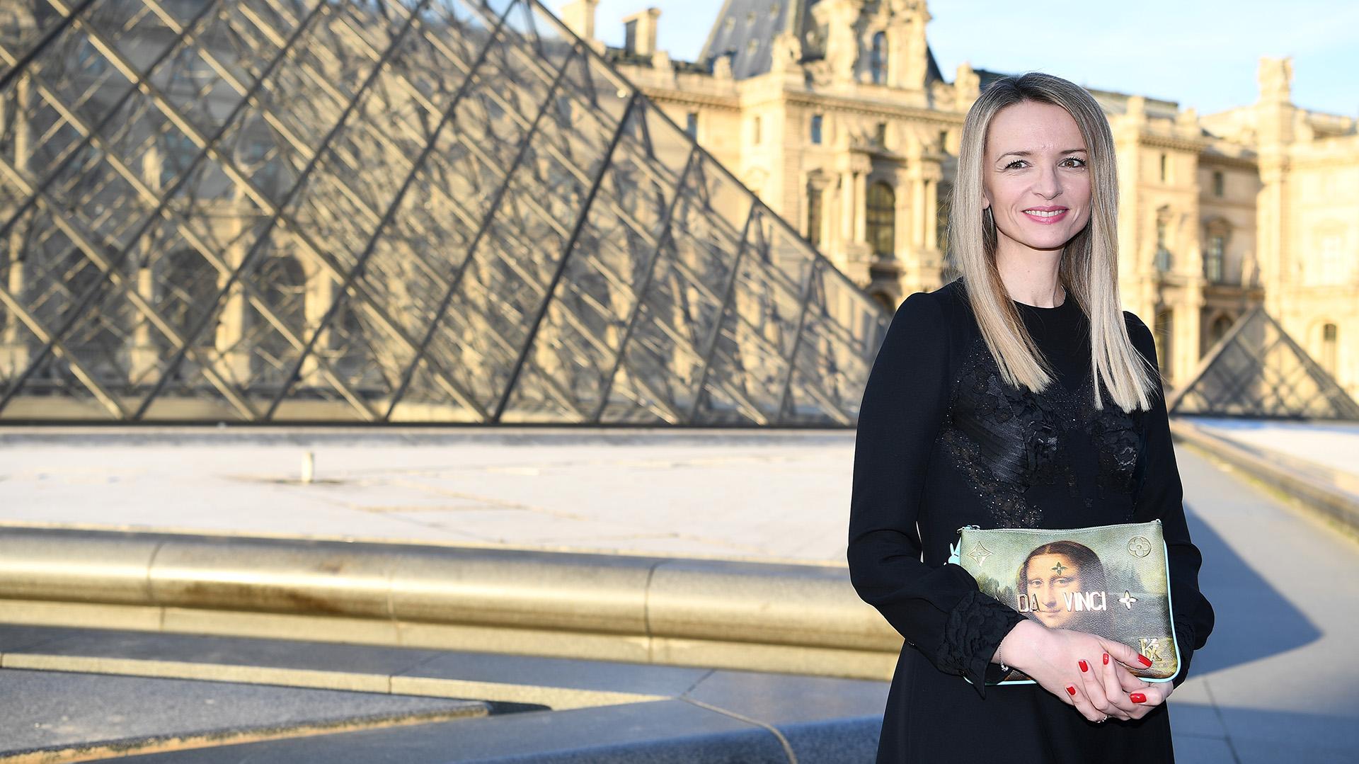 La directora y vicepresidente ejecutiva de Louis Vuitton, Delphine Arnault
