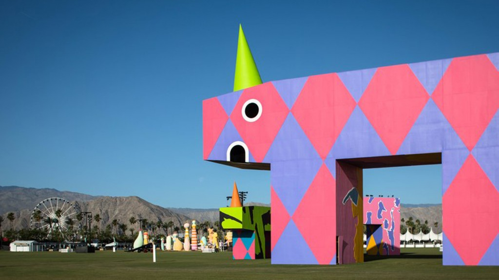 El festival de Coachella comenzó el viernes con actuaciones de Radiohead, Lady Gaga y Kendrick Lamar (Lance Gerber)