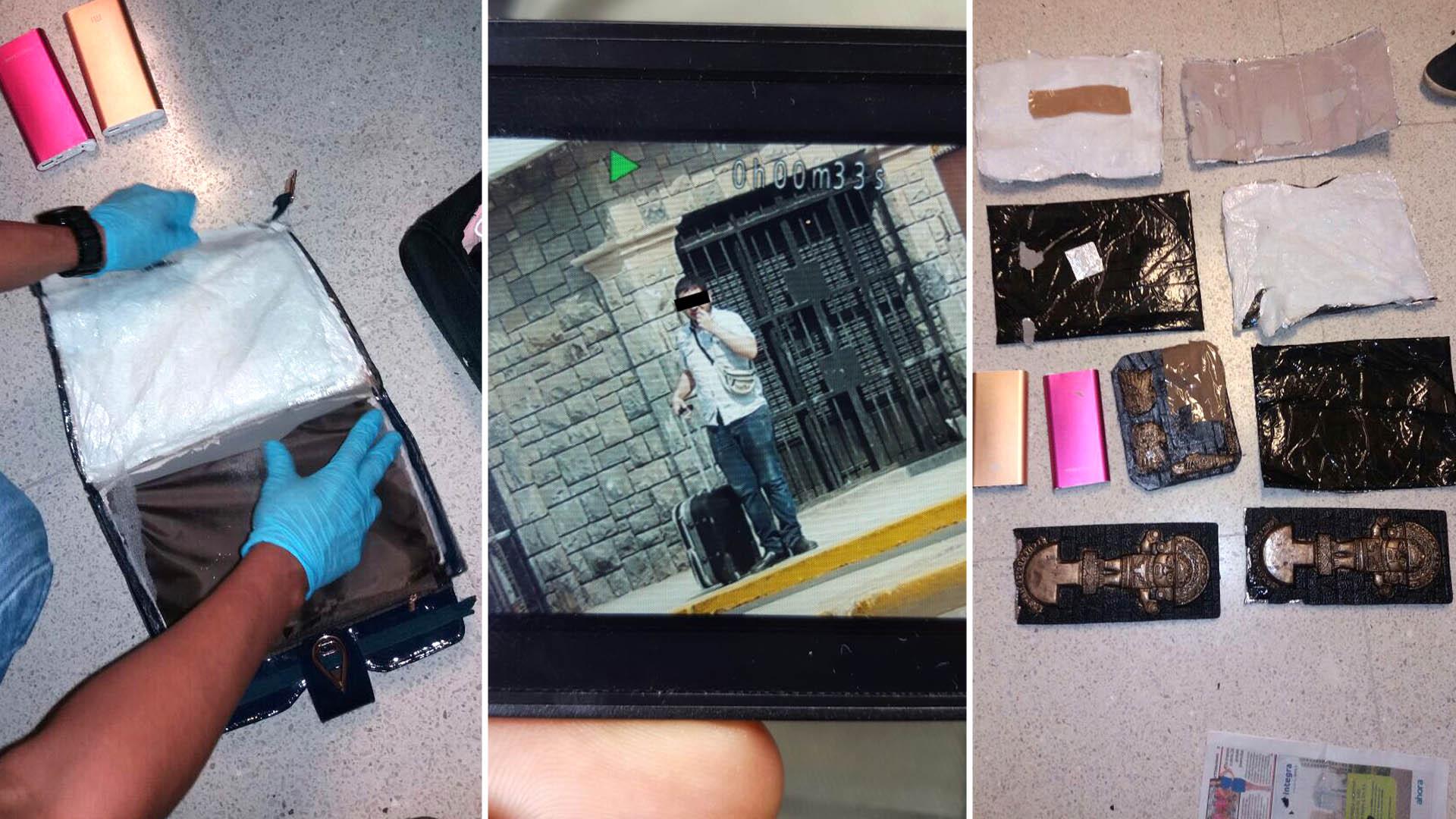 La cocaína que le encontró la Policía panameña: 2,47 kilos